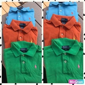 🎪 BOYS POLO SHIRTS BY RALPH LAUREN SIZE: 4/4T 🎪